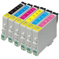 Картридж Epson Stylus Photo R200/R300/RX500/RX600 (O) C13T04864010, LM