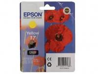 Картридж Epson Expression Home XP-33/103/203/207/303/306/406 (O) C13T17044A10, Y