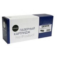 Картридж HP CLJ Pro CP1525/CM1415 (NetProduct) NEW CE321A, C, 1,3K