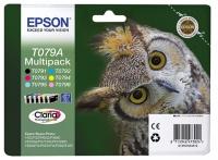 Картридж (комплект ) Epson Stylus Photo P50/PX660/800FW (O) C13T079A4A10, C,M,Y,BK,LM,LC