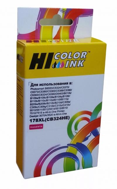 Картридж HP C5383/C6383/B8553/D5463 , №178XL (Hi-Black) CB324HE, M