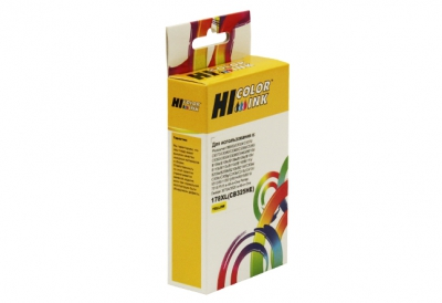 Картридж HP C5383/C6383/B8553/D5463, №178XL (Hi-Black) CB325HE, Y