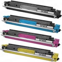 Картридж HP CLJ Pro MFP M176N/M177FW (NetProduct) NEW CF352A, Y, 1К