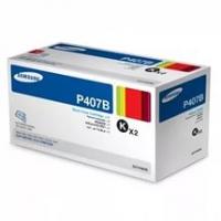 Картридж Samsung CLP-320/320n/325/CLX-3185/3185n (O) CLT-P407B, BK, 2*1,5K , двойная уп