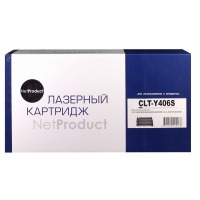 Картридж Samsung CLP-360/365/368/CLX-3300/3305/3307 (NetProduct) NEW CLT-K406S, BK, 1,5K