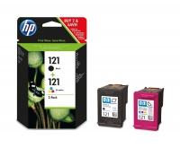 Картридж HP DJ F4283/D2563 №121 (O) CN637HE BK/Tri-color