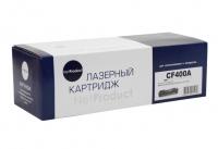 Картридж HP CLJ M252/252N/252DN/252DW/277n/277DW (NetProduct) NEW № 201A, CF400A, BK, 1,5K