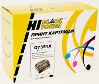 Картридж HP LJ P3005/M3027MFP/M3035MFP (Hi-Black) Q7551X, 13K