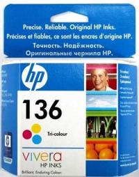 Картридж HP DJ 5443/4163, №136 (O) C9361HE, Color