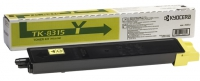 Тонер-катридж Kyocera TASKalfa 2550ci type TK-8315Y Yellow 6000 стр (о)