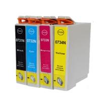 Картридж Epson Stylus C67/87/CX3700/4100/4700 (Hi-black) new, C13T06334A, M