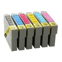 Картридж Epson R270/390/RX590/T50/TX800FW/Photo1410 (O) T08144A/C13T11144A10, Y