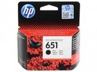 Картридж HP DJ 5645 №651(O) C2P10AE, BK