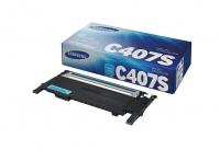 Картридж Samsung CLP-320/320n/325/CLX-3185/3185n (O) CLT-C407S, C, 1K