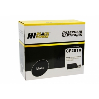 Картридж HP LJ Enterprise M630z/630H/630DN (Hi-Black) CF281X, 25К