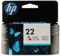 Картридж HP DJ 3920/3940, №22 (O) C9352AE, Color