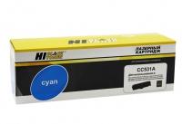 Картридж HP CLJ CP2025/CM2320/Canon LBP7200 (Hi-Black) CC531A/№ 718, C, 2,8K
