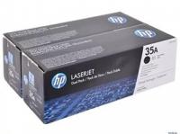 Картридж HP LJ P1005/P1006 (O) CB435AF, 1,5K