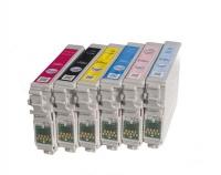 Картридж Epson Stylus R270/295/390/RX590/T50/TX800FW (O) T08244A/C13T11244A10, Y