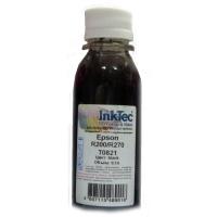 Чернила Epson R200/R270, E0010 (InkTec) T0821, BK, 0,1л