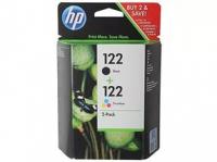 Картридж HP DJ 1050/2050/2050S №122 (O) CR340HE BK/Tri-color