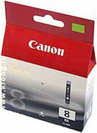 Картридж Canon PIXMA iP4200/iP6600D/MP500 (O) CLI-8BK, BK