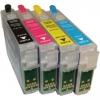 Перезаправляемый картридж Epson S22/SX425 Bk (Hi-Black) new T1281 пустой, с чипом