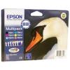 Картридж (комплект) Epson Stylus R270/RX590/T50 (O) T08174A/C13T11174A10, C,M,Y,BK,LM,LC