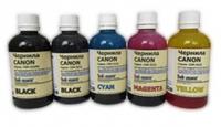 Комплект чернил Inkmate для Canon (черный пигм+водные) 0.1л - 5шт.